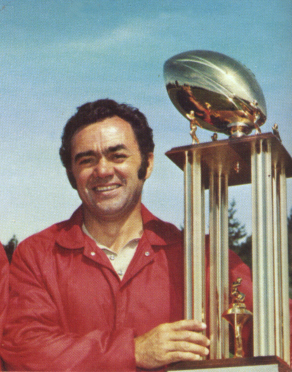 O.A.L. championship trophy, 1974