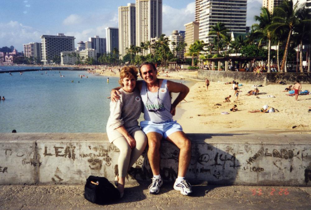 Waikiki Beach, 1999