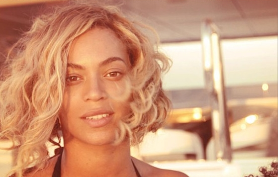 Flawless as usual - Queen B sans makeup