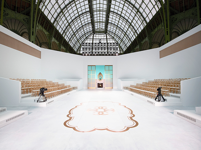 Grand Palais, Paris - Chanel's stage for Karl's Fall Winter 2014 Couture Show