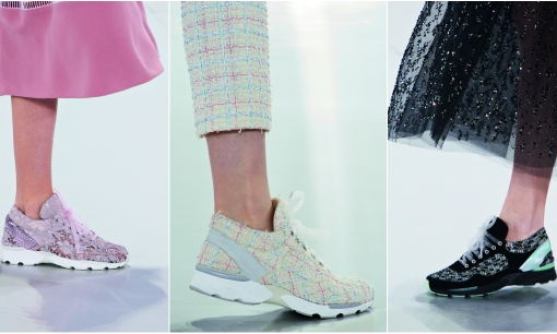 The $6 000 sneakers - Chanel Spring 2014 Couture Collection