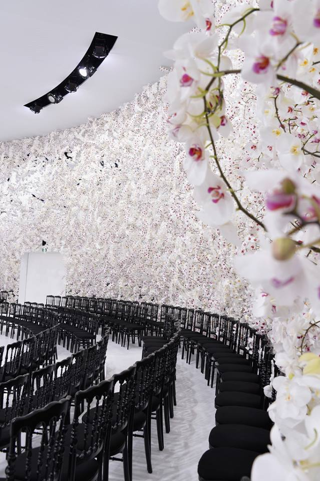 Dior's Fall Winter Couture Stage