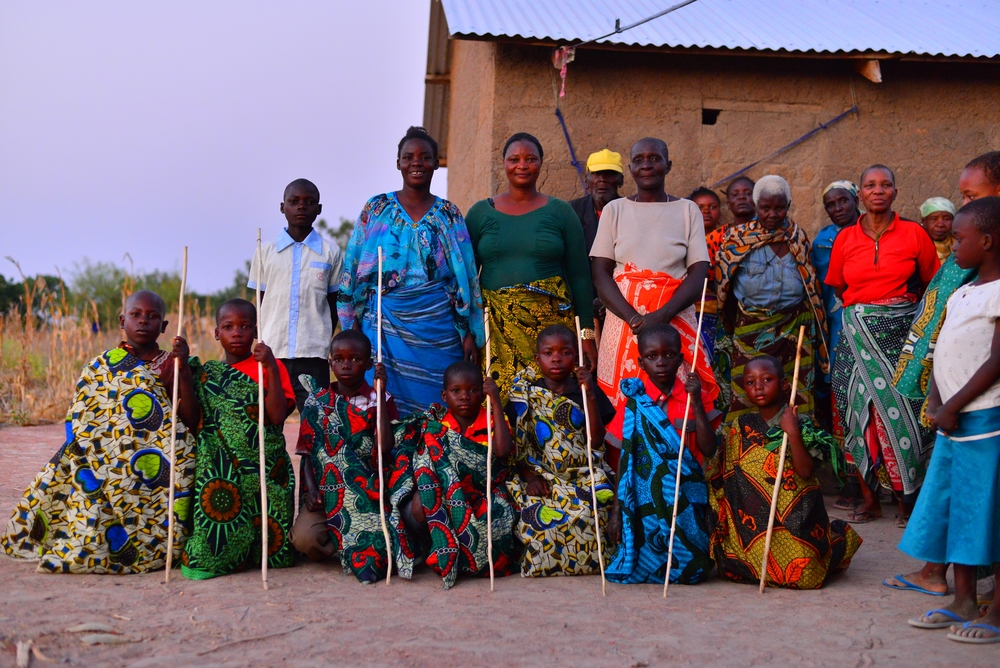 What style! Mothers and their sons prior to a coming of age celebration in Tanzania.