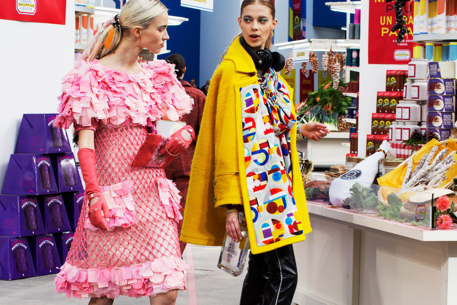 The 'Chanel Supermarket' ( PFW Fall-Winter 2014/15)