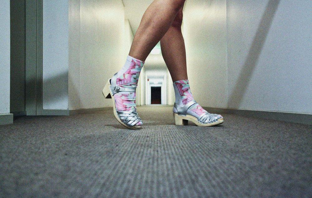 Candy socks from  sockdrawer.com