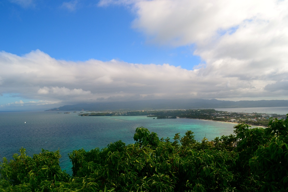 View from the Top - Boracay Island, one of the world's best beaches!