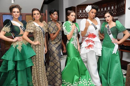 Fashion Show in Vigan, Philippines