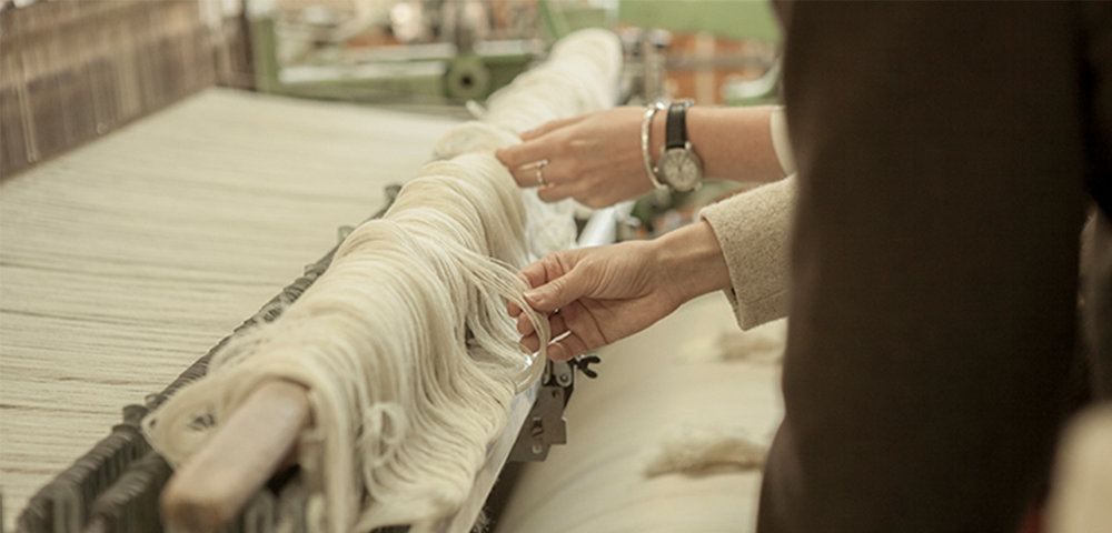 It all starts with producing quality, sustainable, organic materials