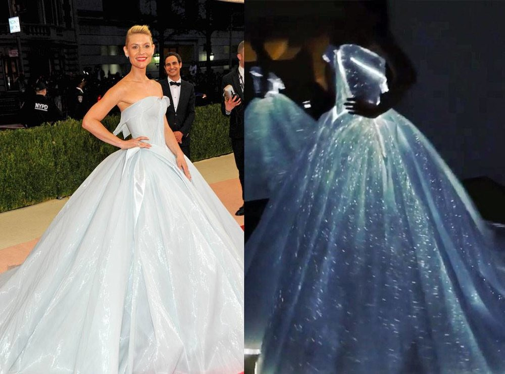 Zac Posen's Glow in the Dark Gown from the 2016 MET Gala