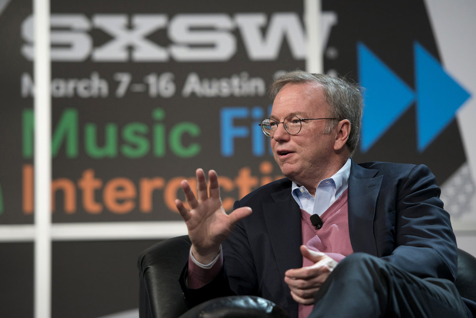 Keynote speaker, Eric Schmidt, pushed the point that people aren't as safe as they think they are; and that the reason for secrecy — especially with regard to the government — must be very narrowly defined to be acceptable.