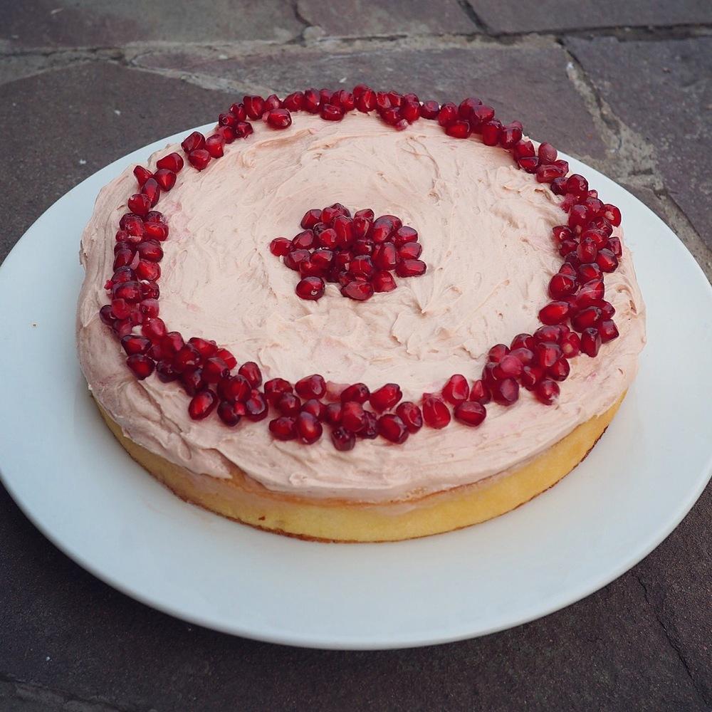 tashkent lemon cake
