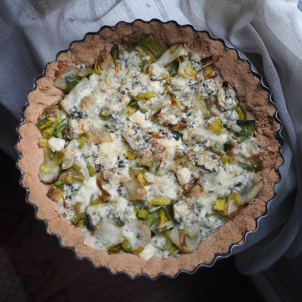buckwheat tart