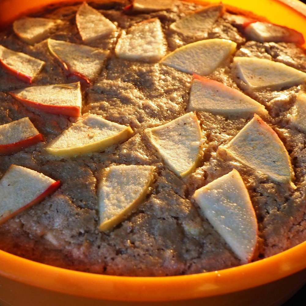 buckwheat apple cake
