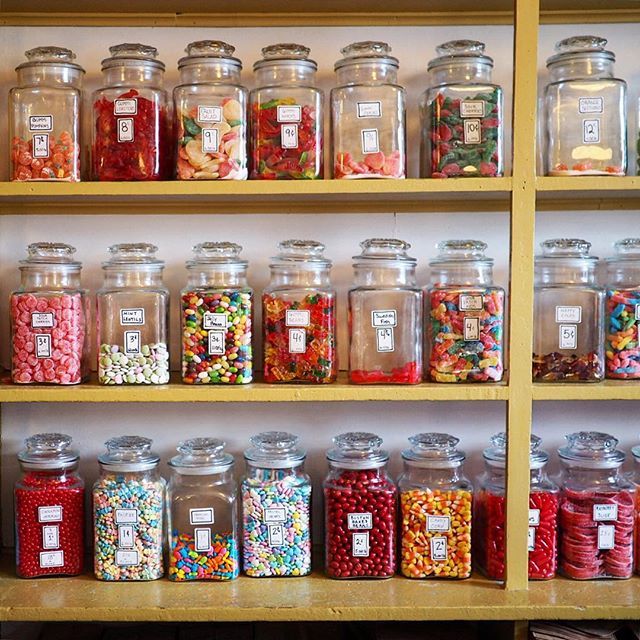 Penny candy at Round Pond's iconic Granite Hall Store