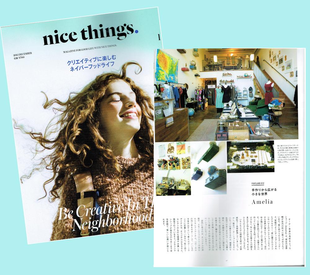 Nice Things - December 2015