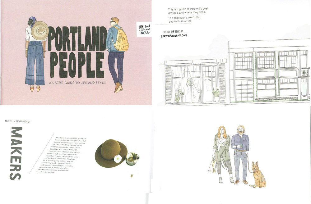 Travel Portland: Zine Guides - November 2015