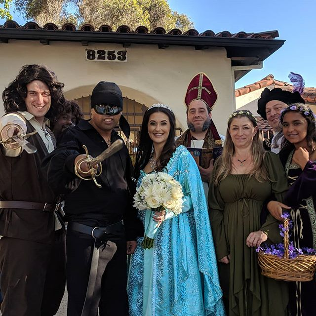 On June 9, 2018, I had the pleasure of joining two of my dear friends in matrimony. He was the Dread Pirate Roberts to her Princess Buttercup and I was that weird clergyman he couldn't talk good. It was a magical day to remember, and I was honored to play my part. Congratulations nerds, I married the hell out of you guys. #mawwiage  #theprincessbride #wedding