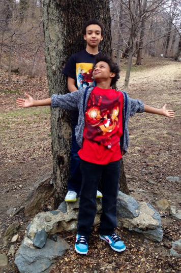 Monte and Noah Gutierrez
