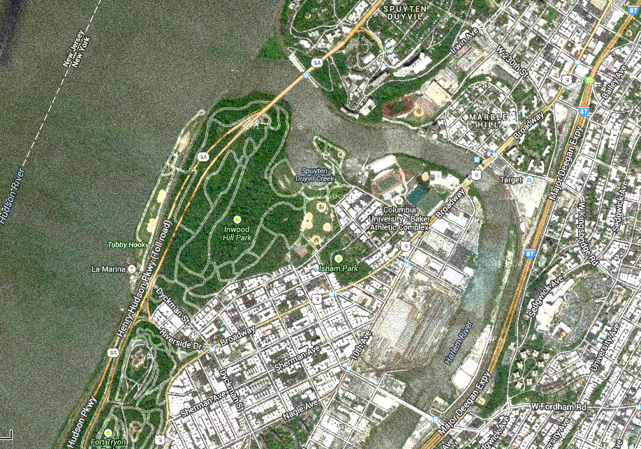 Development on land and at the river's edge are changing the Inwood landscape.