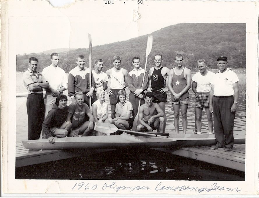 1960 Olympic Canoeing Team