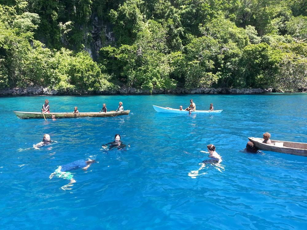 snorkeling Mane Island