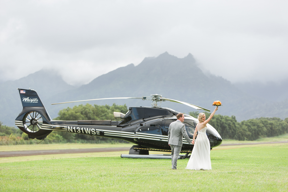Leaving in Style via Private Helicopter