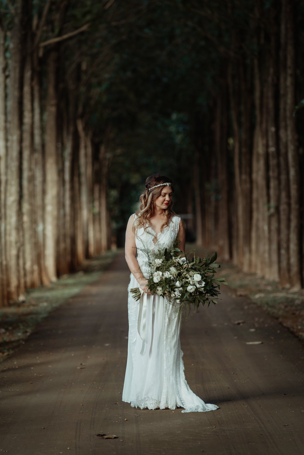 This Beautiful Bride Encompassed Everything Boho into Her Wedding Day Look