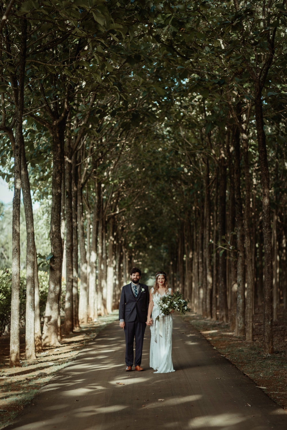 A Beautiful Couple at One of Our Beautiful Elopement Venues