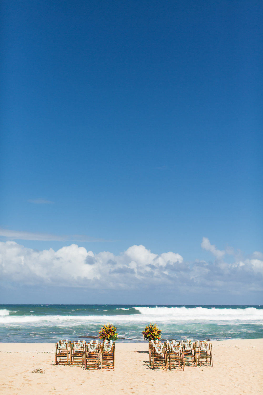 Elopement on the Beach in Kauai, Hawaii