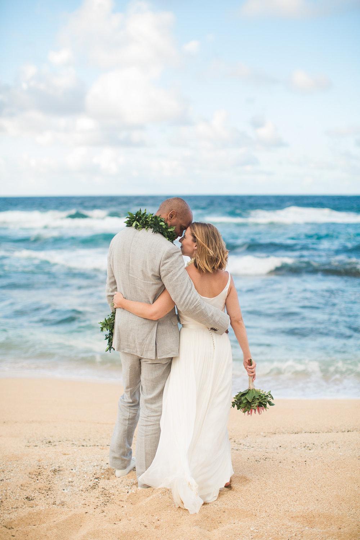Melissa + Kwame, Kauai Island