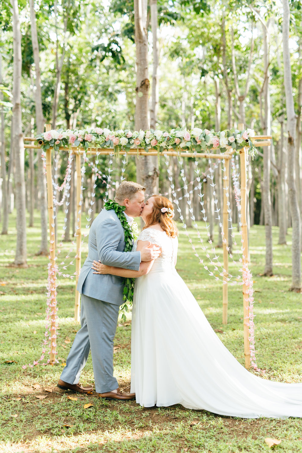 Simple Boho Decor for This Elopement
