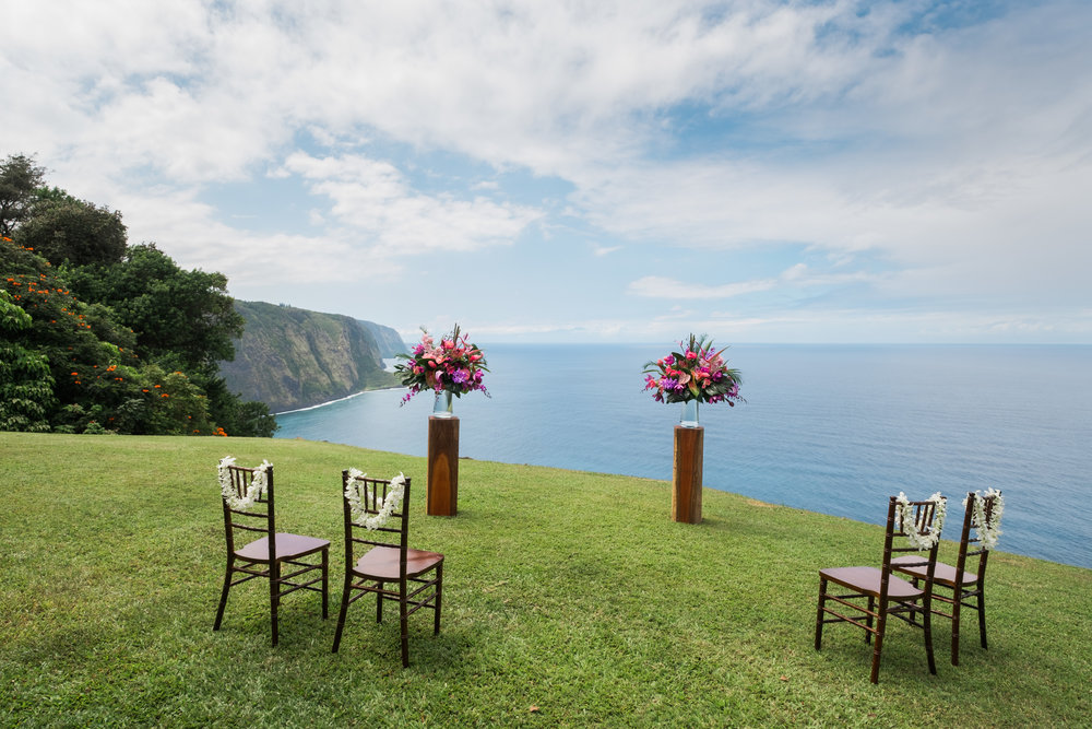 Signature Elopement Location on the Big Island of Hawaii