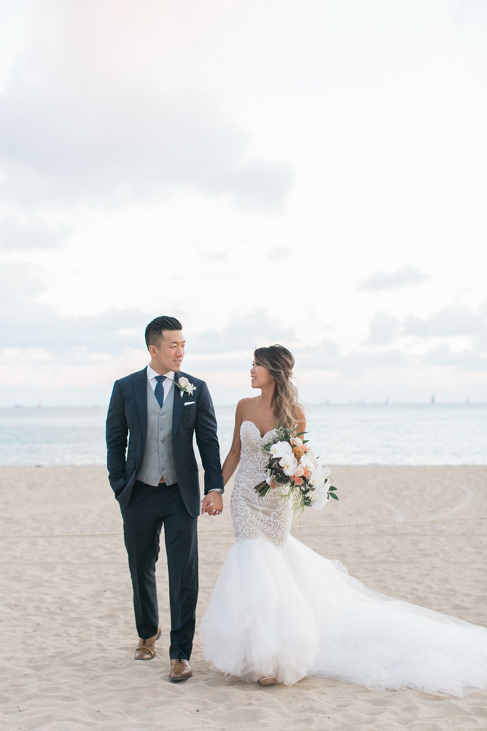 Amy + Jeffrey,  Oahu Island