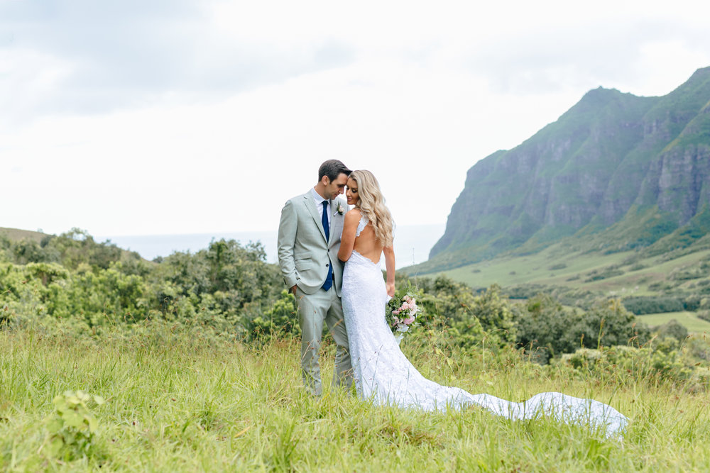 Carly + Ross,   Oahu Island