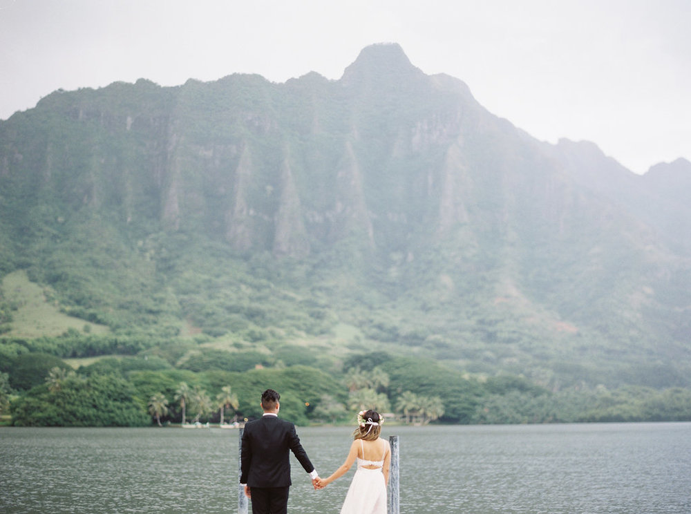 Genevieve + Chris, Oahu Island