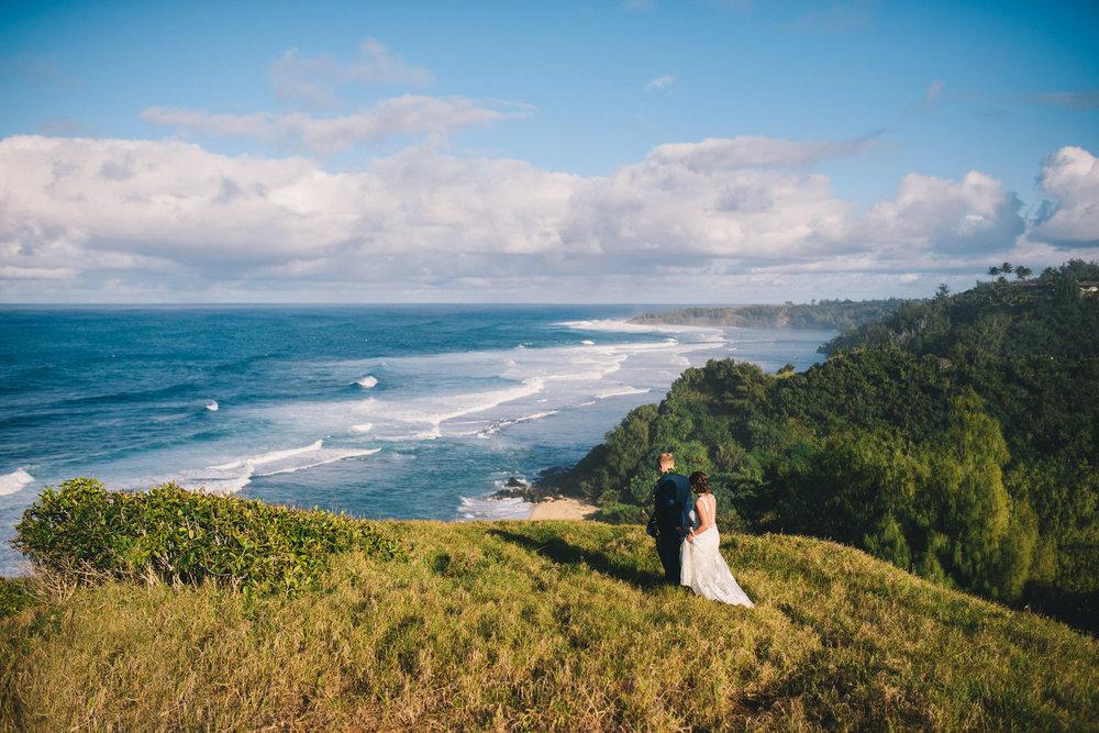 Lindsey + Matthew, Kauai Island