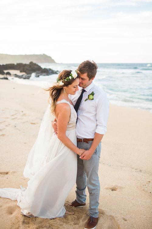 Shannon + Allan, Kauai Island