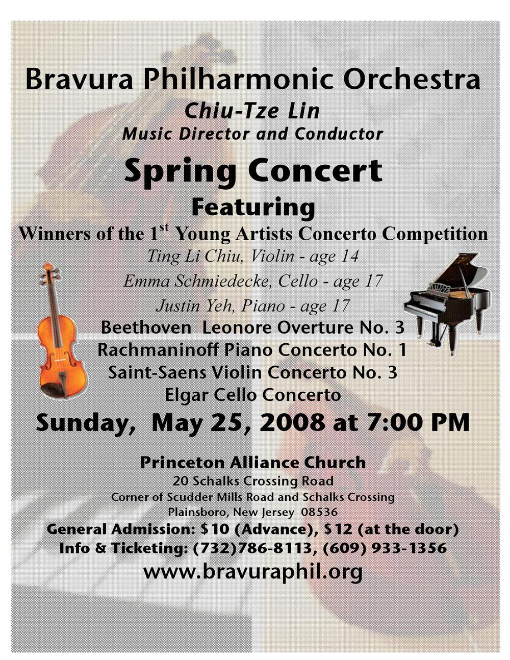 2008 Spring Concert