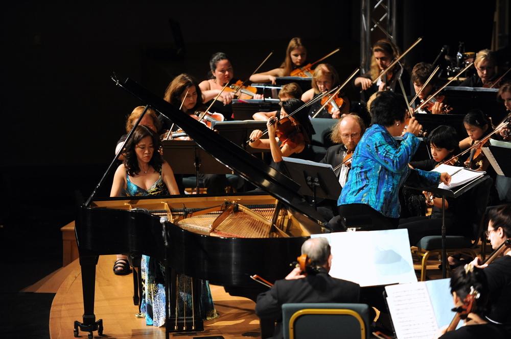 Ms. Long performingRachmaninoff-Paganini variations