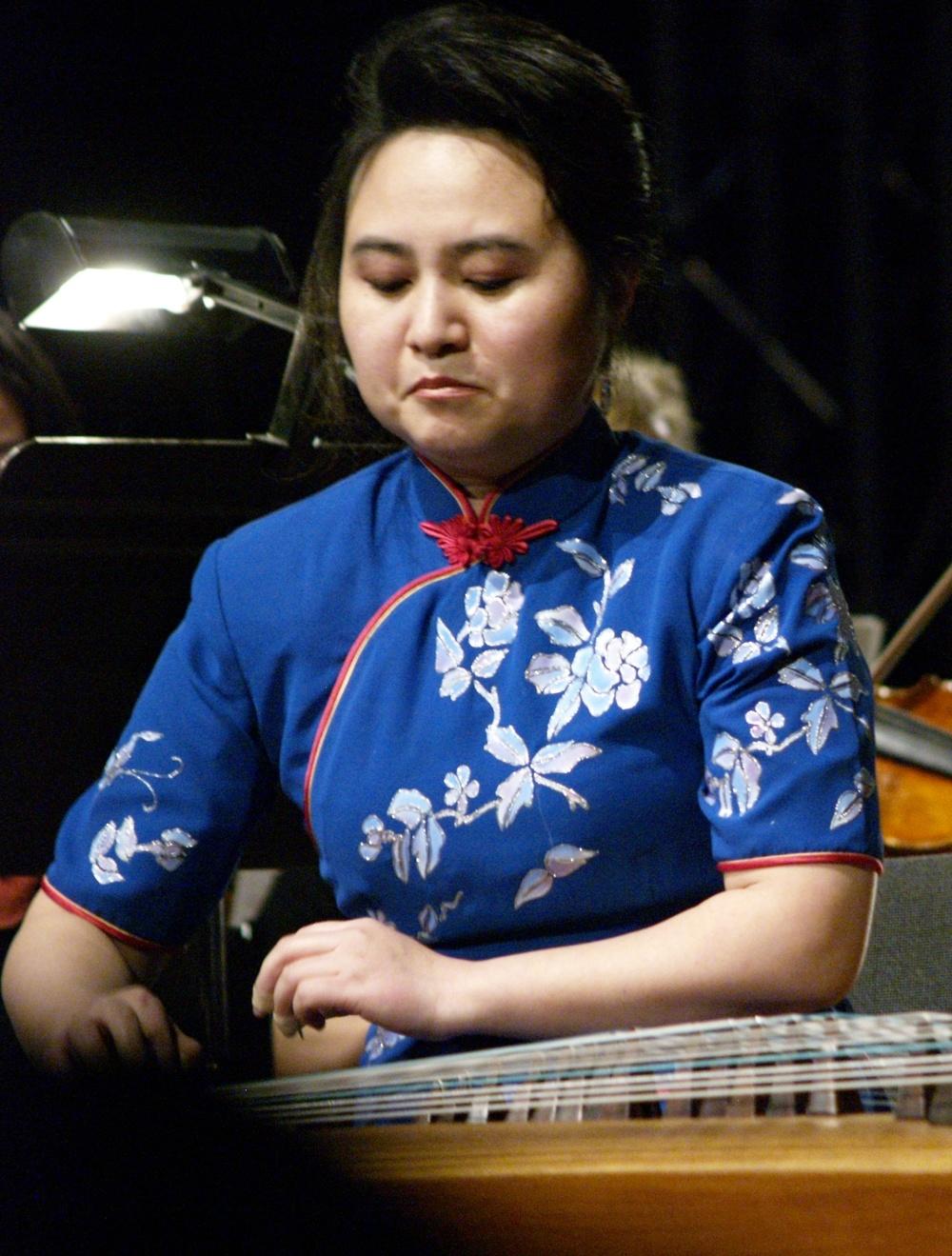 Yang Yi, world classGuzheng master