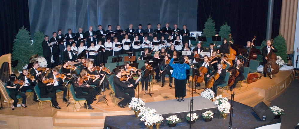 Orchestra and Chorus in Handel's Messiah