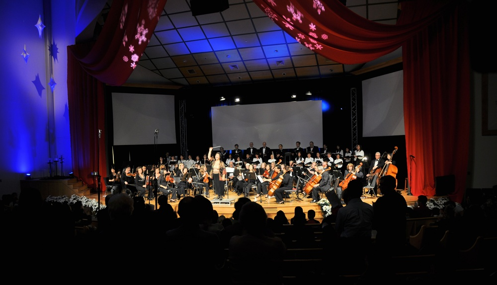 A fabulous holiday concert in a beautiful setting