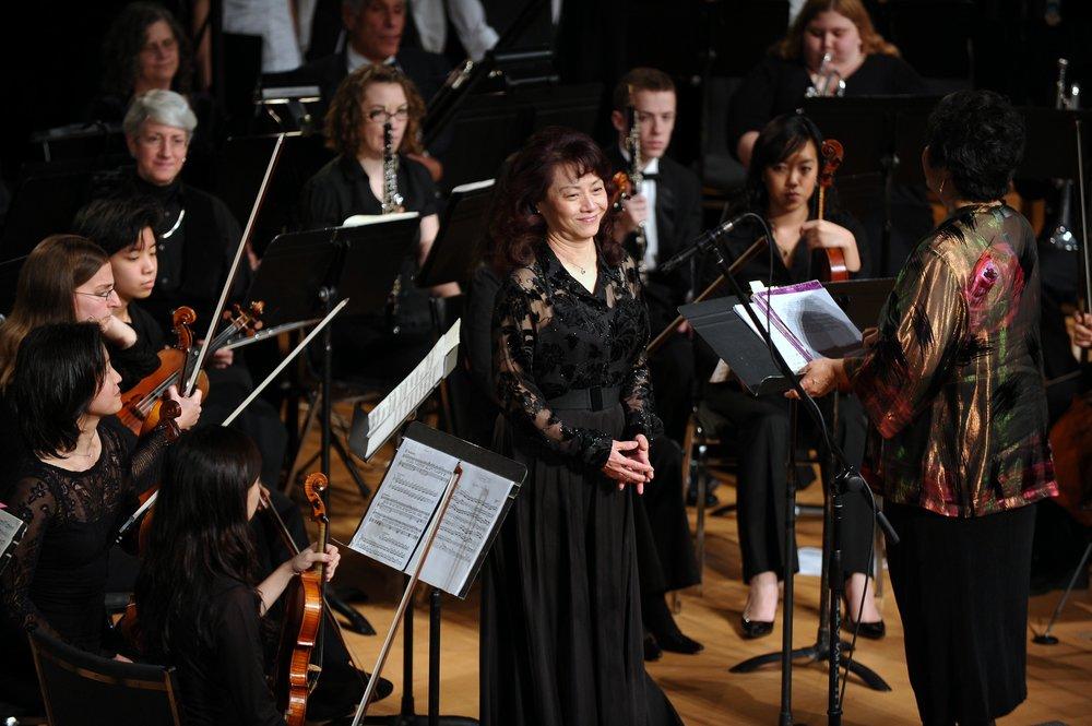 Soprano Wennie Niu's aria performance in Handel's Messiah