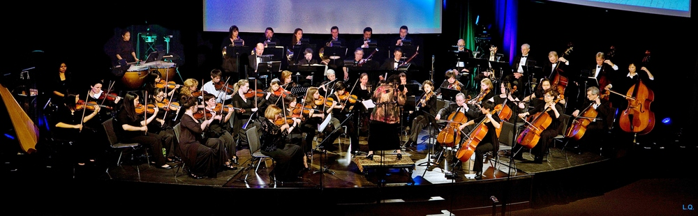 Bravura Philharmonic Orchestra performing Brahms Symphony No. 4