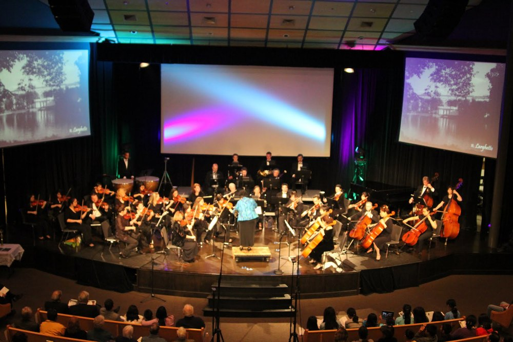 "Orchestra Performing Prokofiev ""Classical"" Symphony"