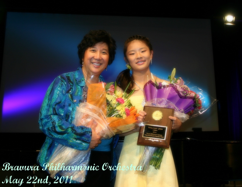 Maestra Lin with Penny Luan