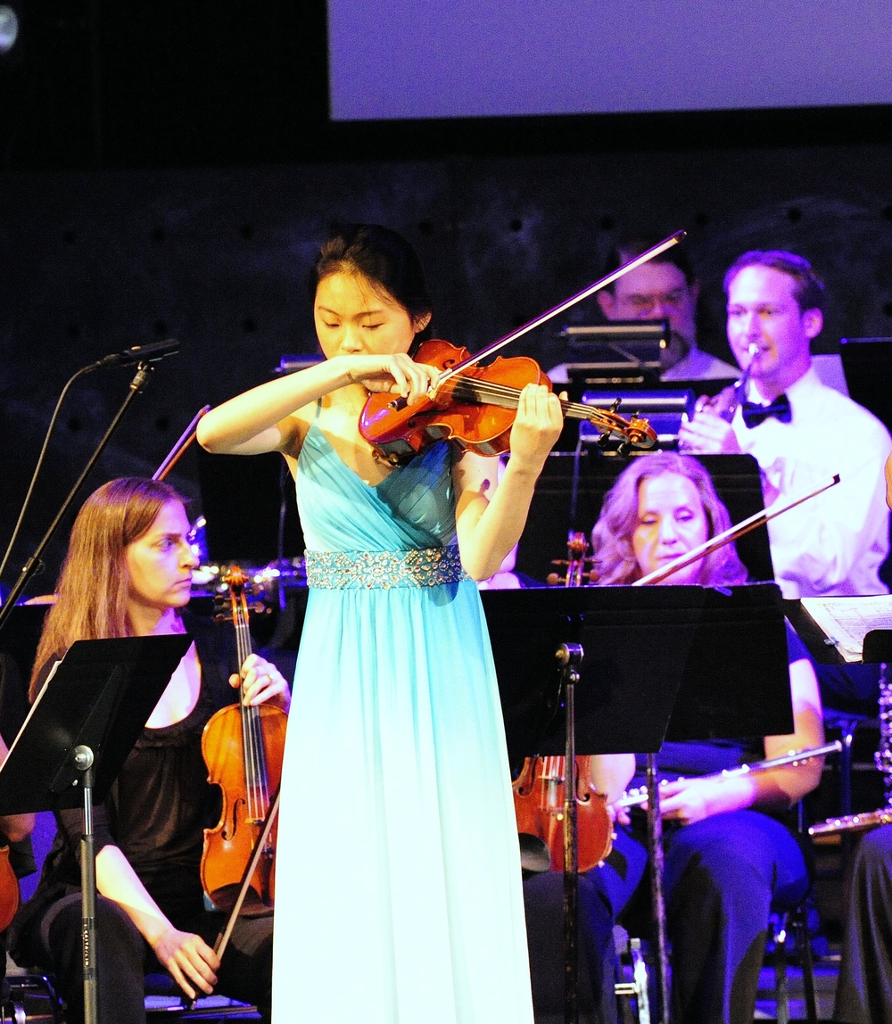 Katie Liu plays a soulful Sibelius cadenza
