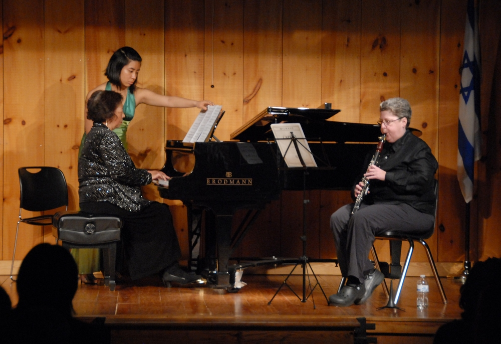 A fascinating collaboration between piano and clarinet