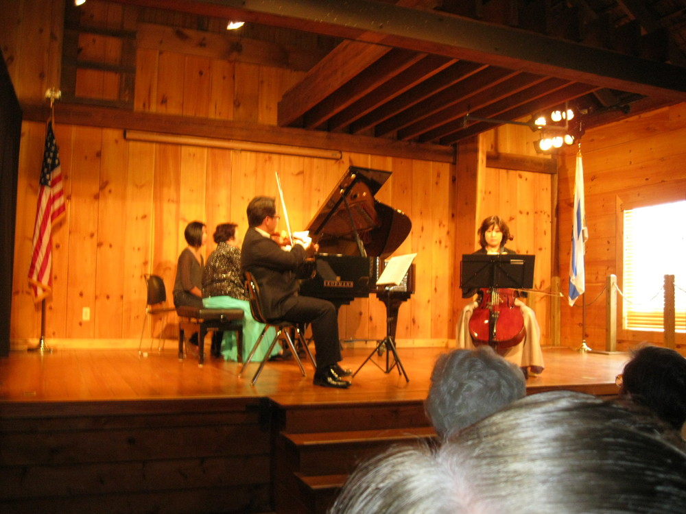 Performing Fanny (not Felix!) Mendelssohn's D minor trio
