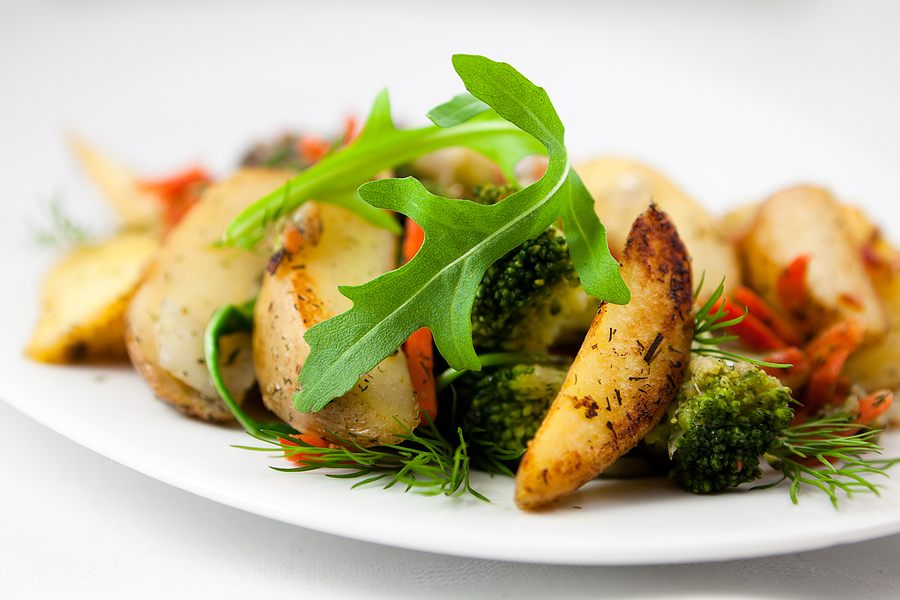 Eat carbohydrates at dinner in combination with fats and protein.
